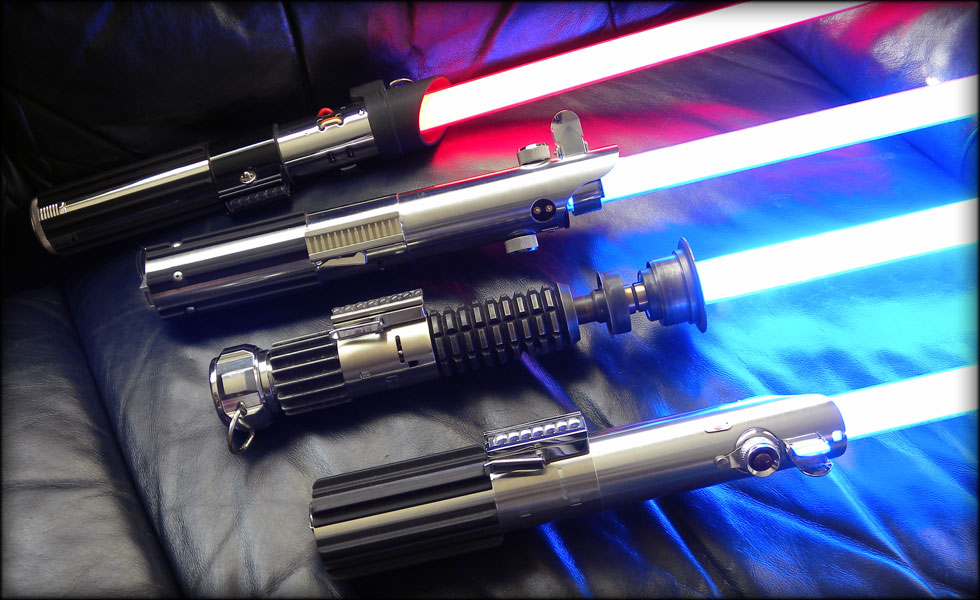 Как сделает свое световые мечи