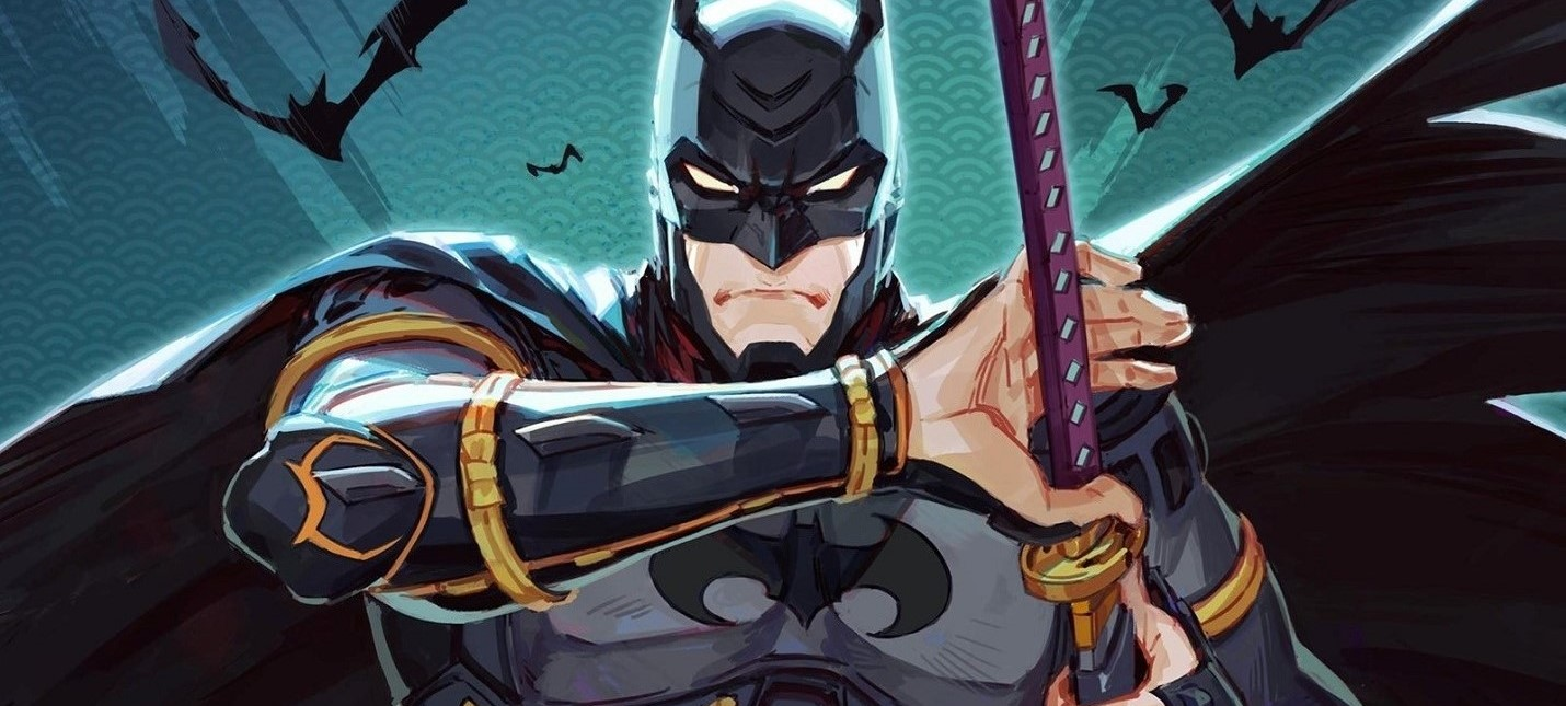 Посмотрите на эту фигурку Бэтмена Ниндзя