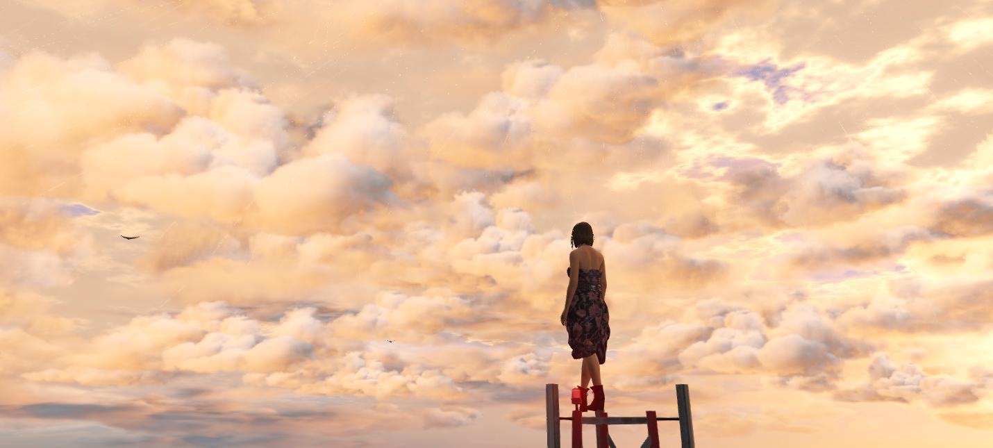 Этот мод добавляет в GTA 5 невероятно реалистичные облака