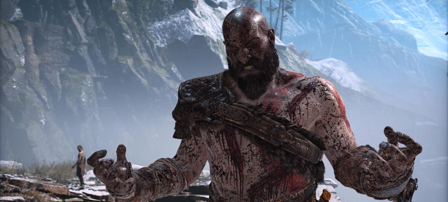 Битва с незнакомцем в God of War глазами Кори Барлога