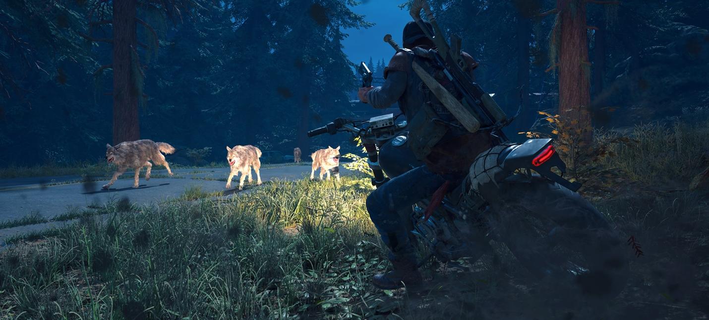 Скриншоты Days Gone с PS4 Pro