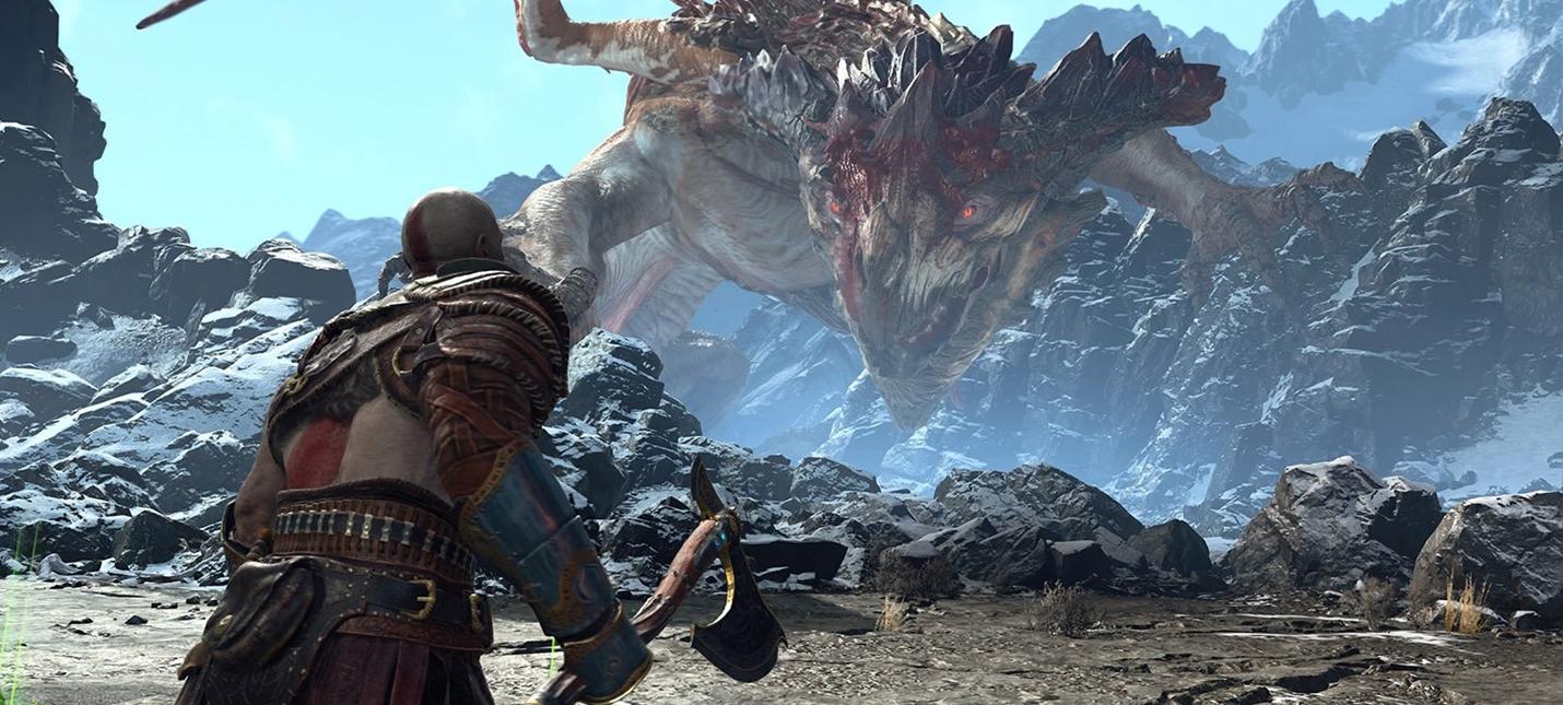 Рев дракона из God of War состоит из огромного количества звуков