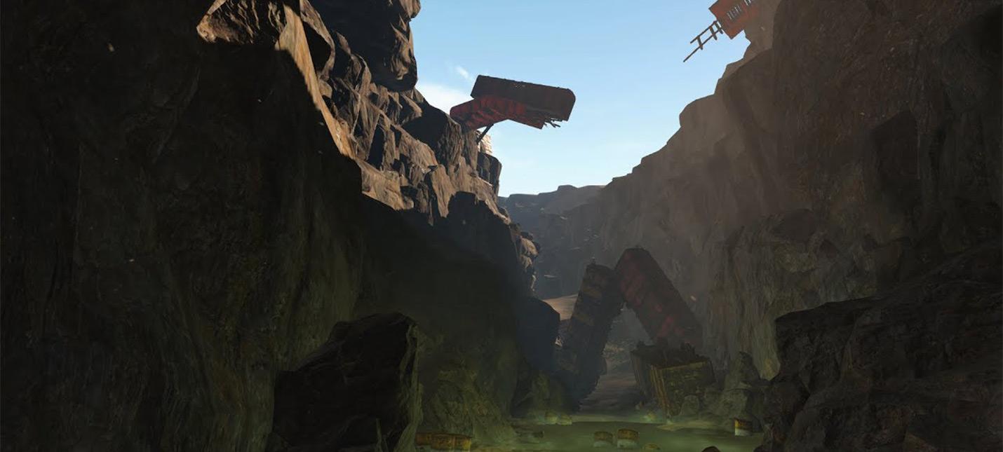 Сравнение окружающей среды мода Fallout 4: New Vegas и оригинала