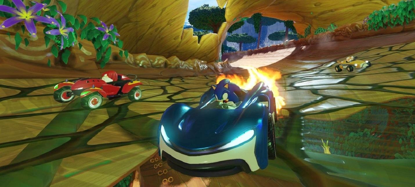 Team Sonic Racing официально анонсирована