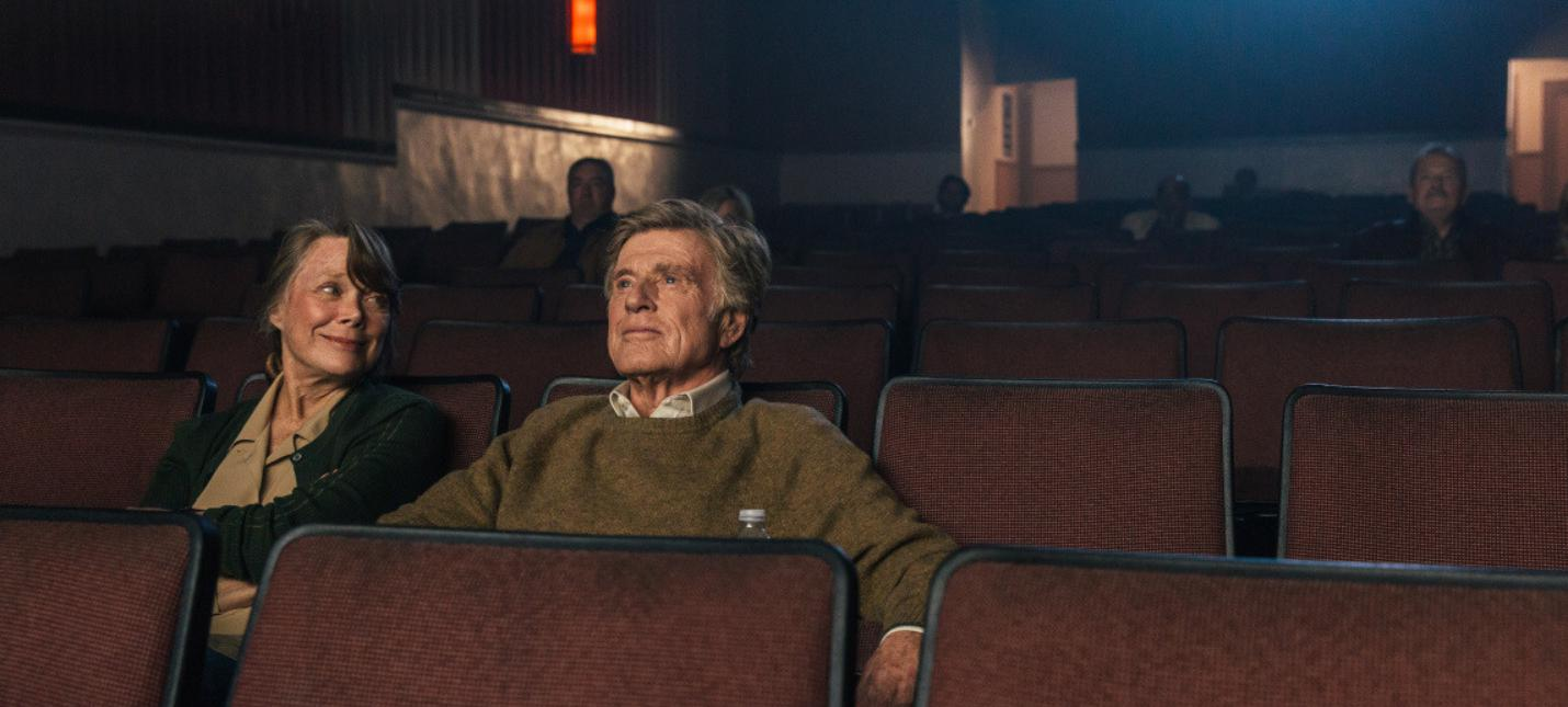 Роберт Редфорд грабит банки в трейлере комедии The Old Man and the Gun
