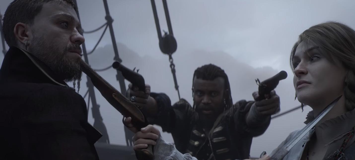 """E3 2018: Новый трейлер Skull & Bones под саундтрек """"Короля Артура"""" Гая Ричи"""