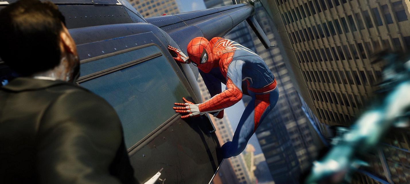 E3 2018: Новый геймплей Spider-Man