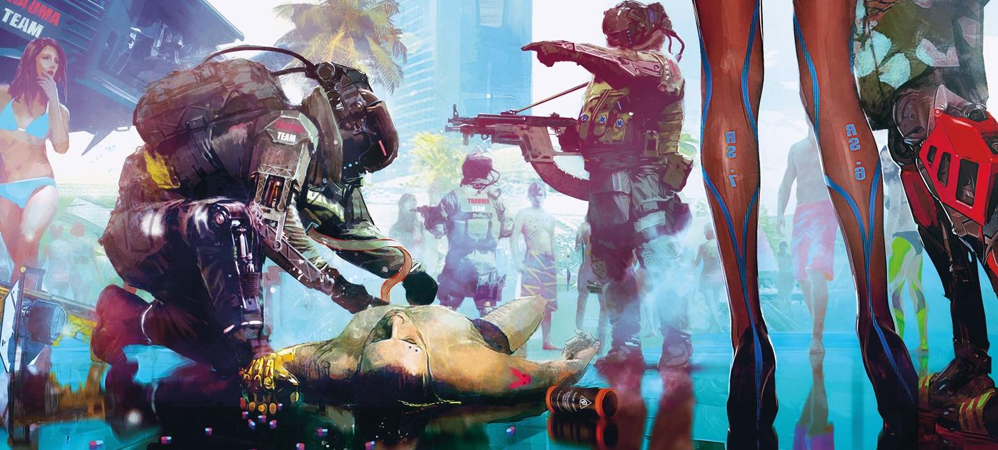 Потрясающие концепты Cyberpunk 2077 и подтверждение фоторежима