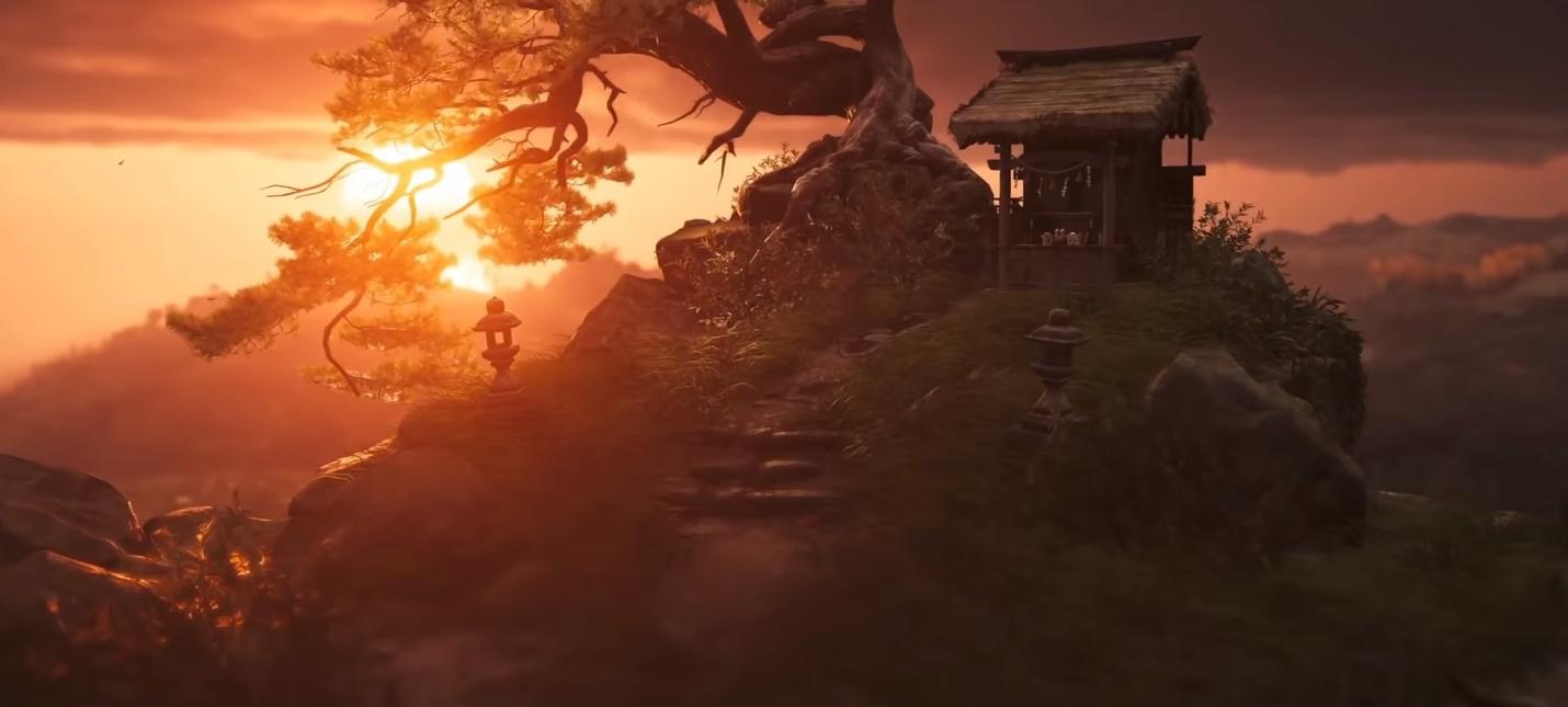 Разработчики Ghost of Tsushima показали отдельные кадры окружения