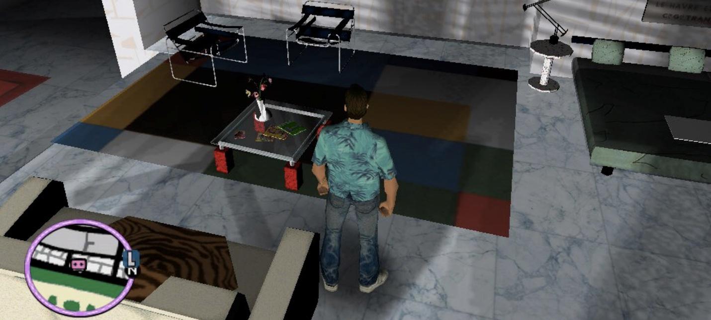 Геймер оценил интерьер отеля в GTA Vice City