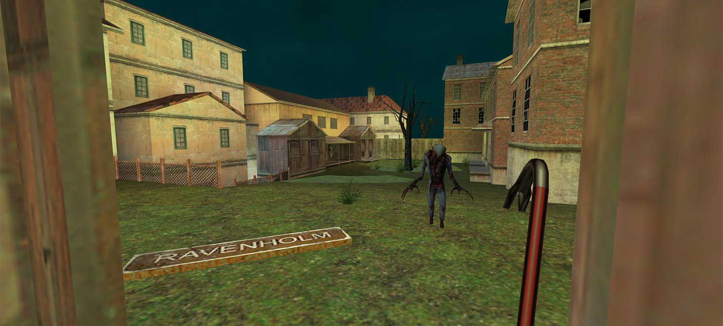 Новые скриншоты демейка Half-Life 2 на движке Half-Life 1