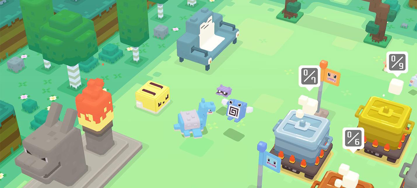 Pokemon Quest заработал 3 миллиона долларов за первую неделю на мобильных девайсах