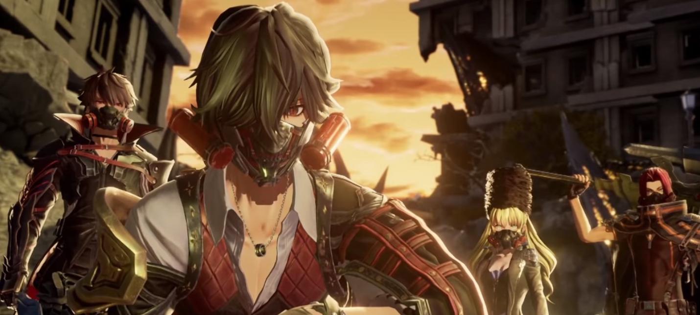Новый трейлер Code Vein посвящен главному герою игры