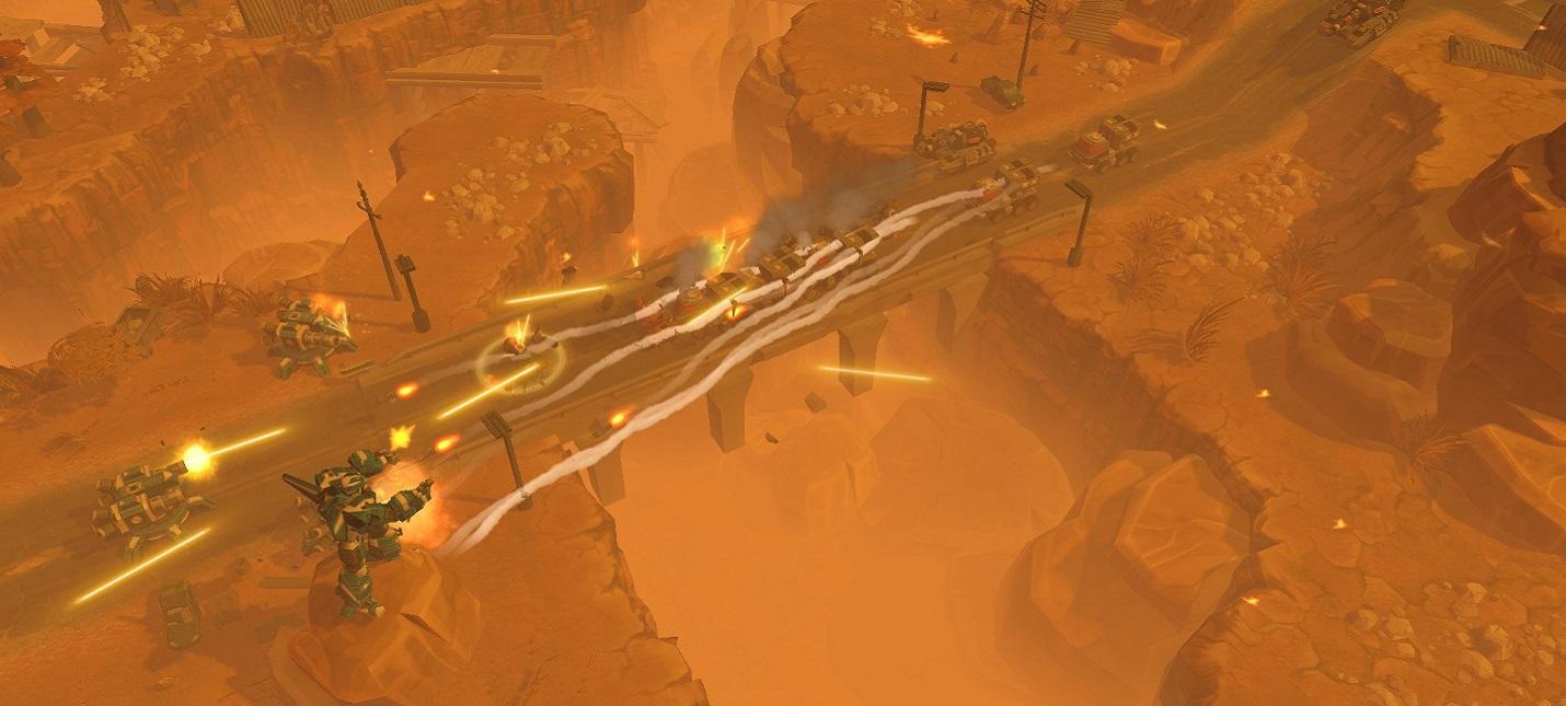 Экшен-RTS AirMech Wastelands покинула ранний доступ Steam