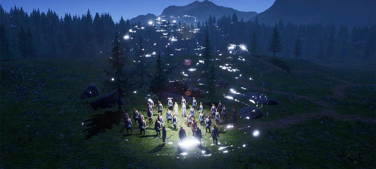Геймплейные сцены фанатского ремейка The Battle for Middle-earth