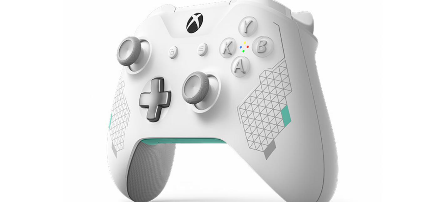 Microsoft показала первый геймпад для Xbox One из новой линейки Sport