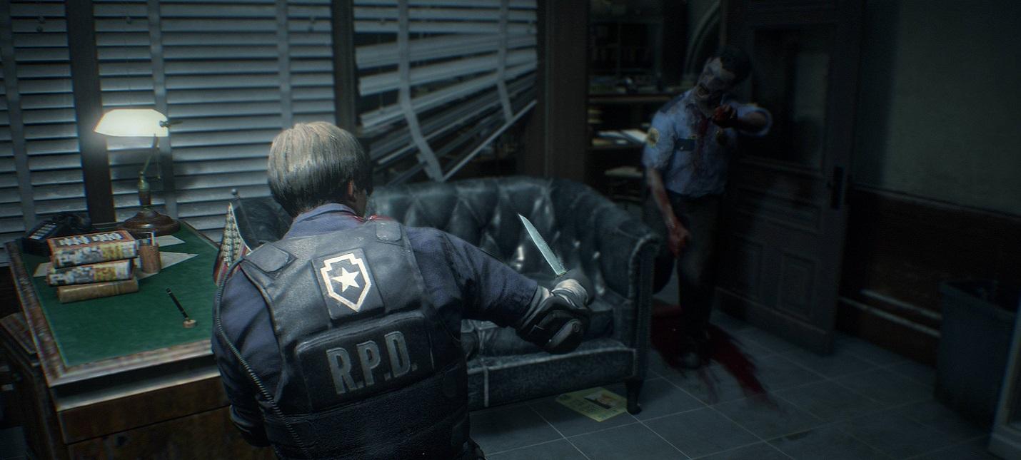 Сравнение графики ремейка Resident Evil 2 с оригинальной версией