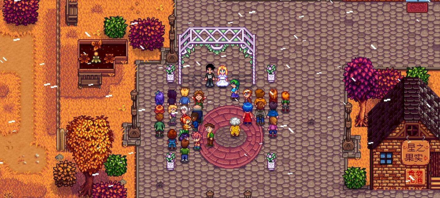 Мод для мультиплеера Stardew Valley с огромной картой на десять игроков
