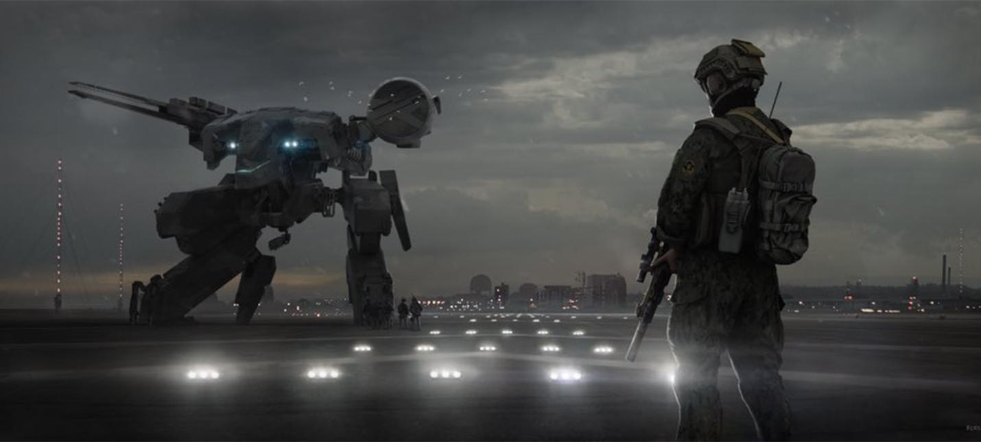 Первый концепт фильма Metal Gear