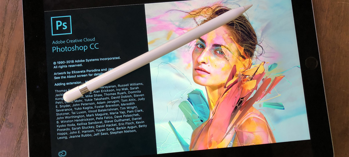 Слух: на iPad выйдет полноценная версия Photoshop
