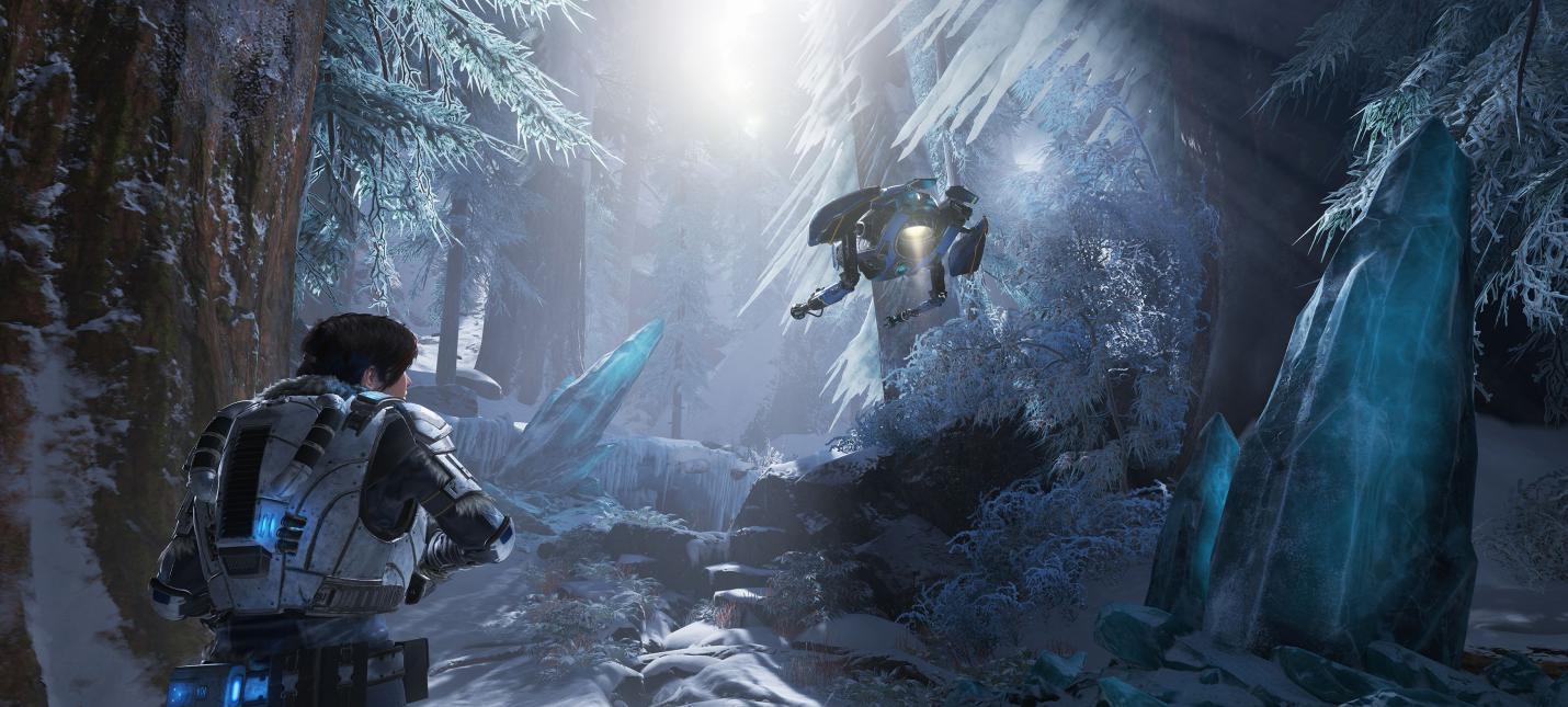 Разработчики Gears 5 показали нового противника