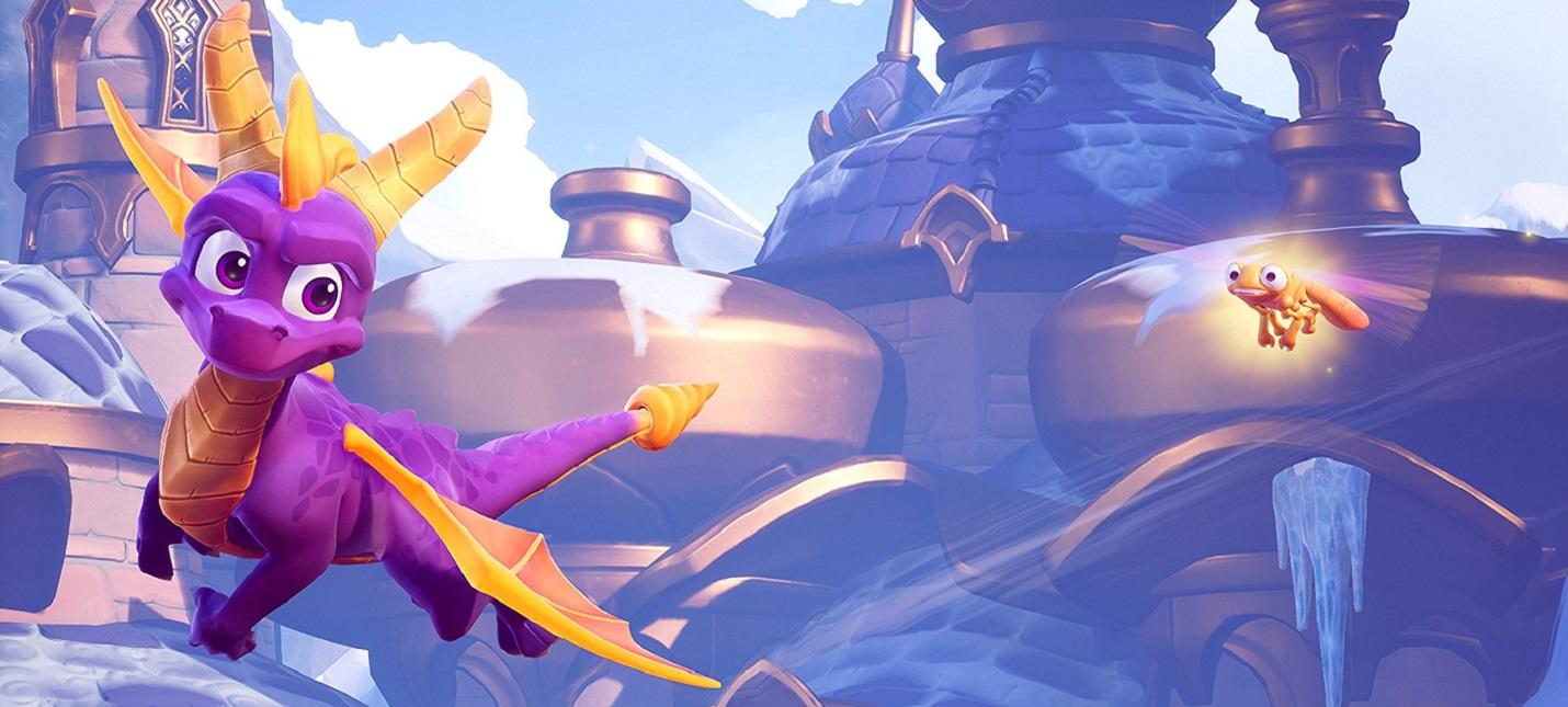Пять минут геймплея обновленной Spyro 2: Ripto's Rage