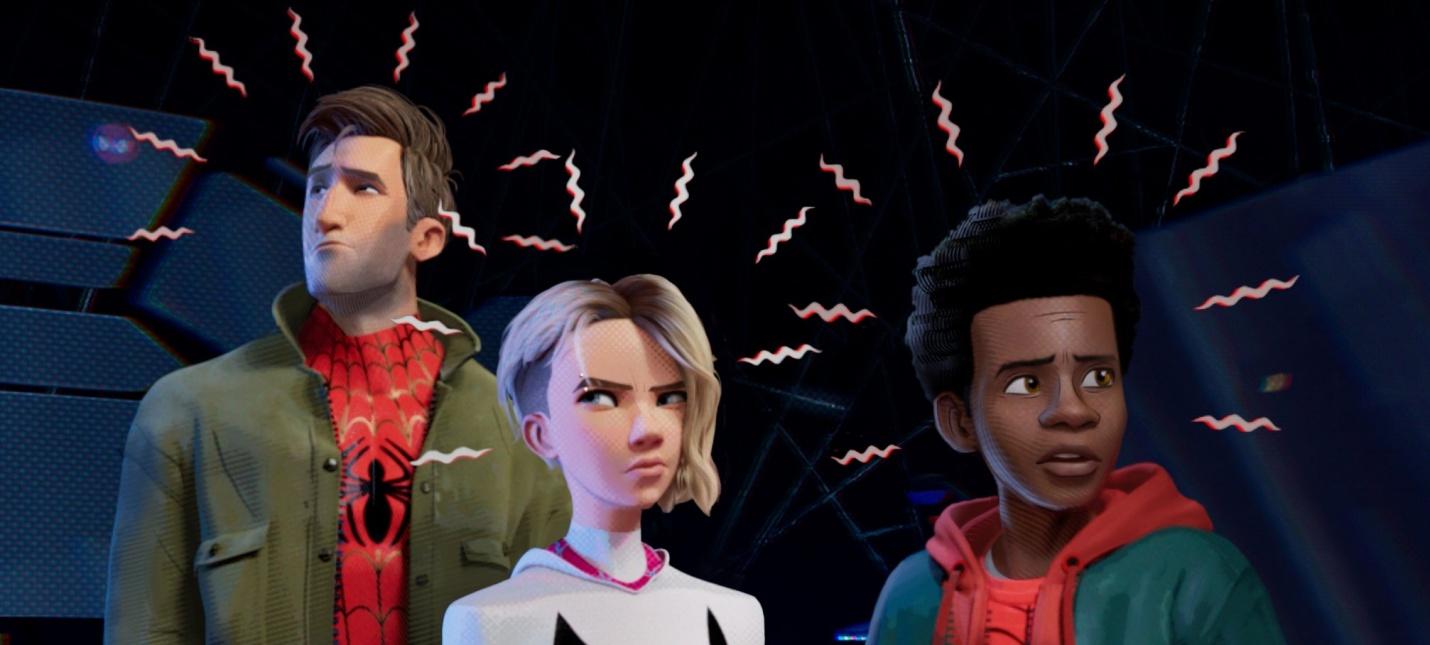 Картинки по запросу «Человек-паук: Через вселенные»