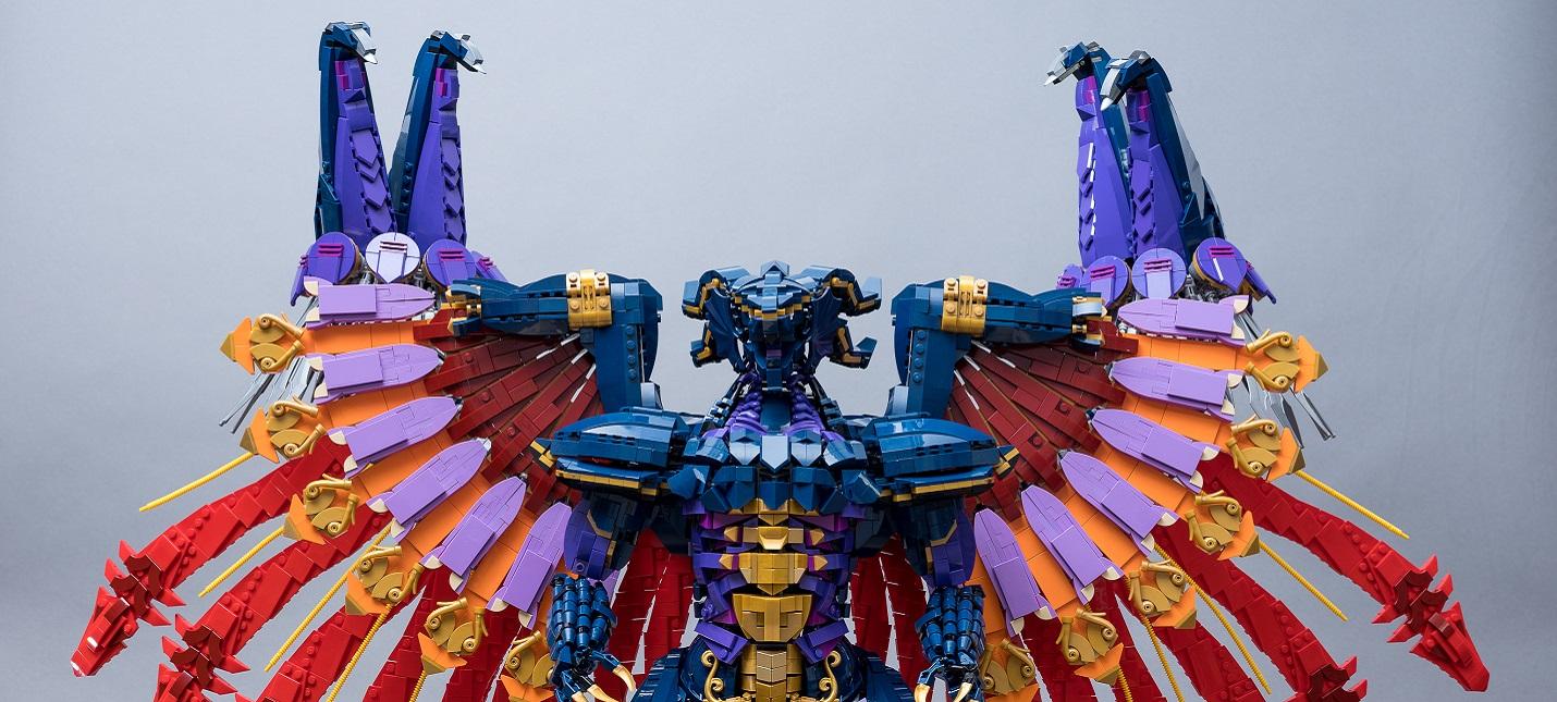 Умелец построил из LEGO одного из боссов Final Fantasy X