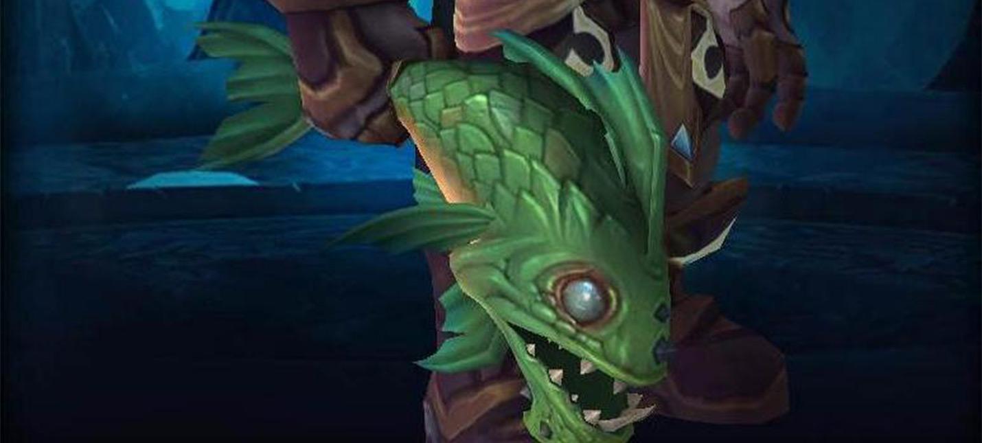 Новое оружие для World Of Warcraft — вонючая рыбина