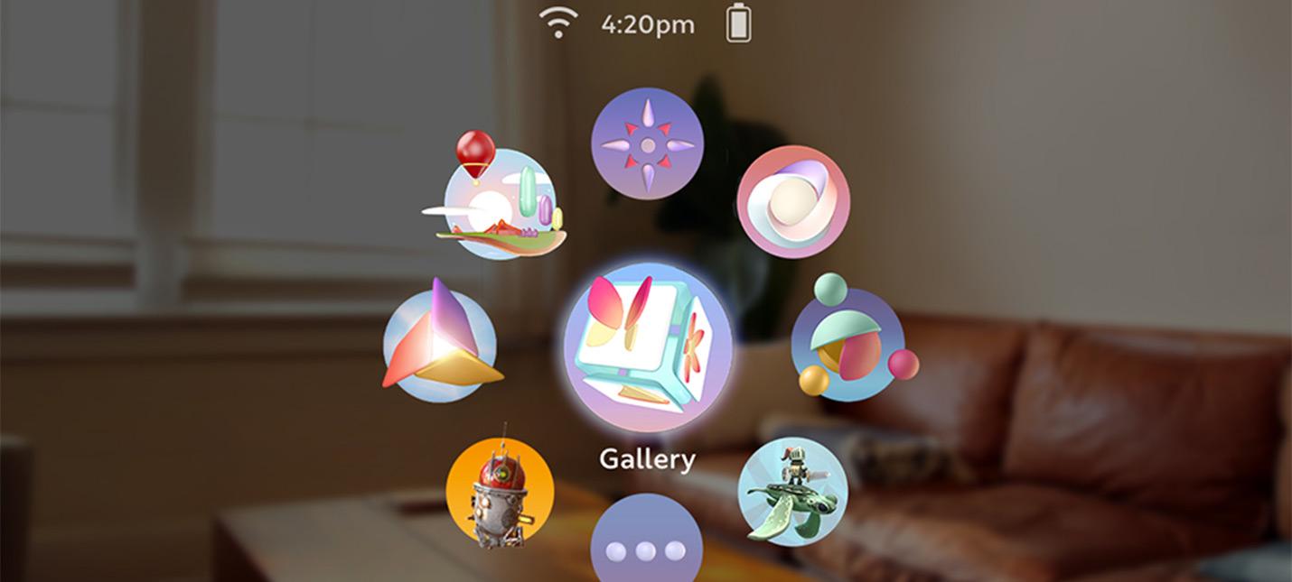 Magic Leap показала интерфейс своего VR/AR девайса