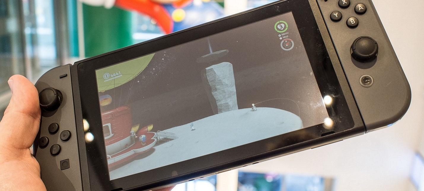 Продажи консоли Nintendo Switch достигли 19 миллионов экземпляров