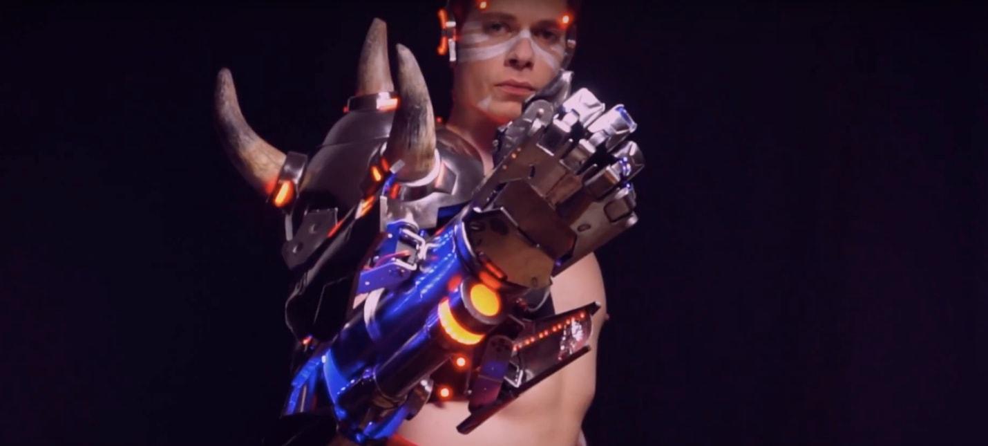 Потрясающий косплей Думфиста из Overwatch