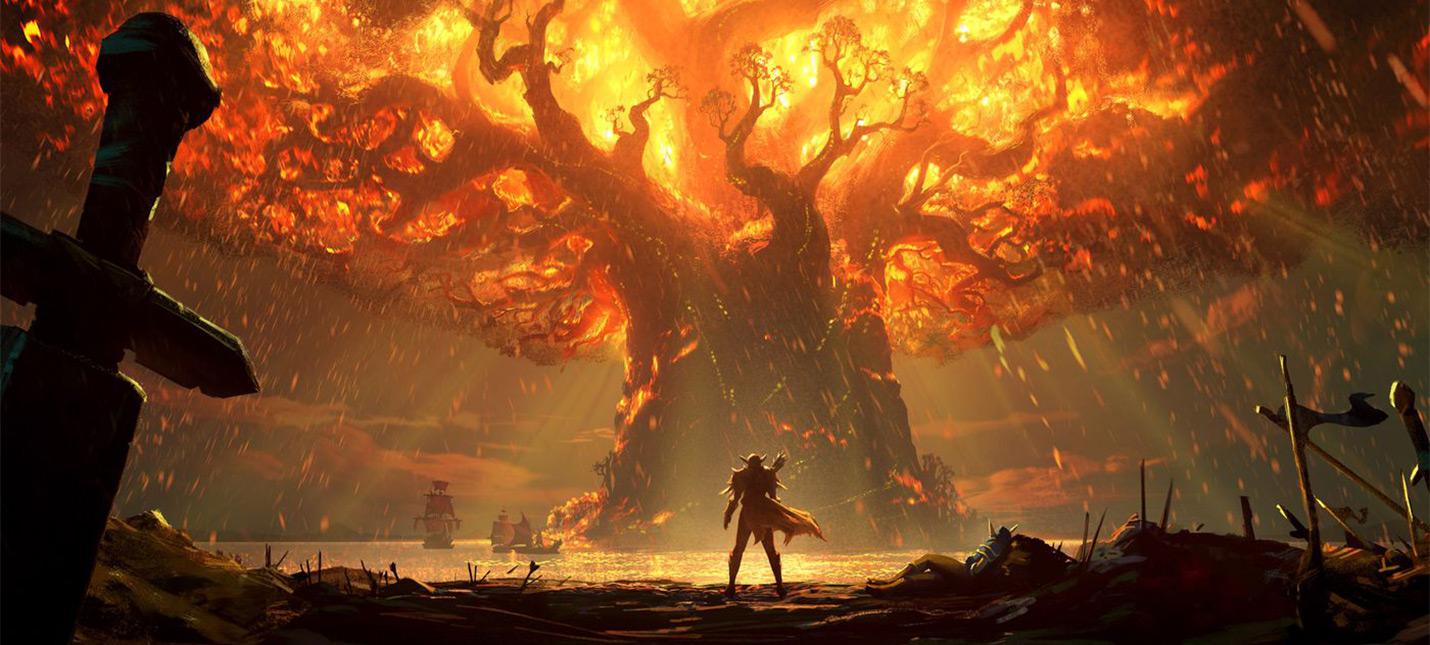 Лучшие мемы про пылающий Тельдрассил в World of Warcraft