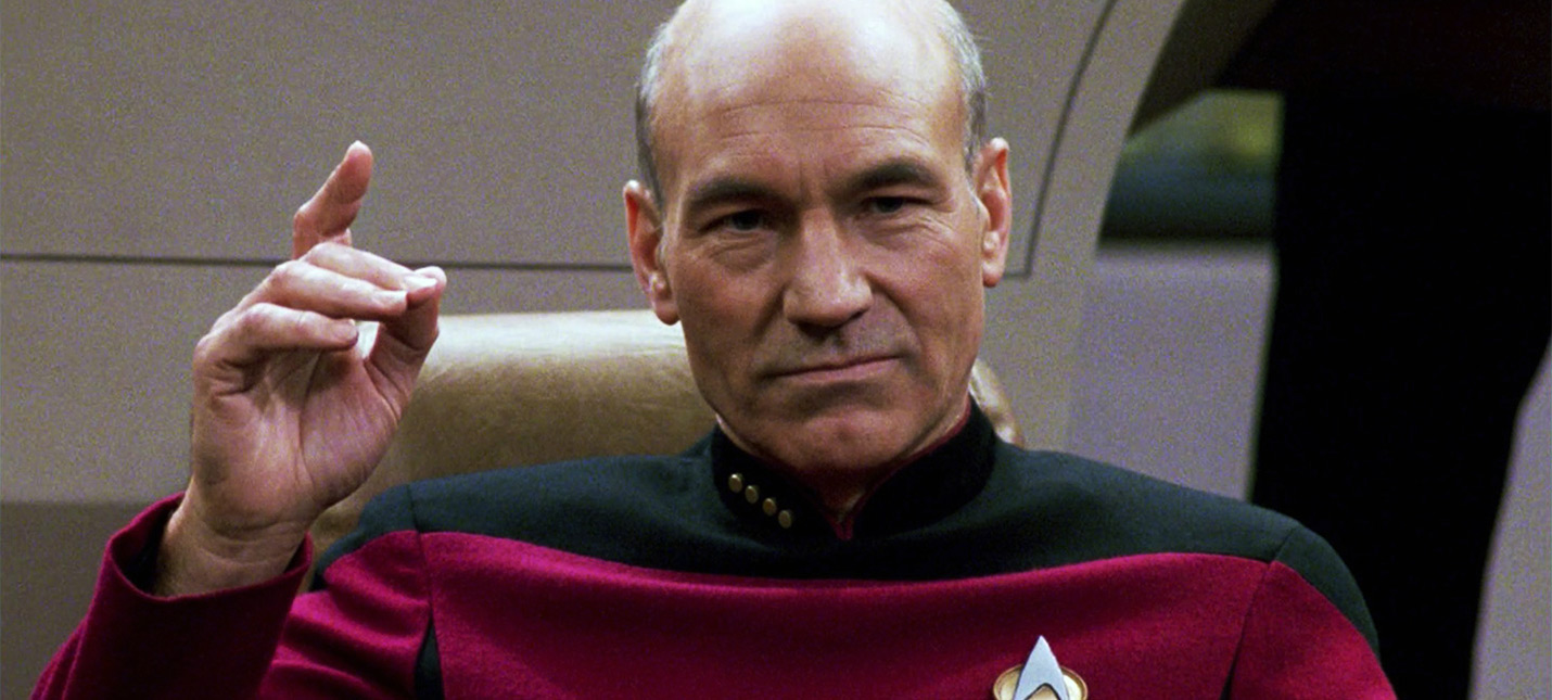 Патрик Стюарт будет играть Пикарда в новом сериале Star Trek