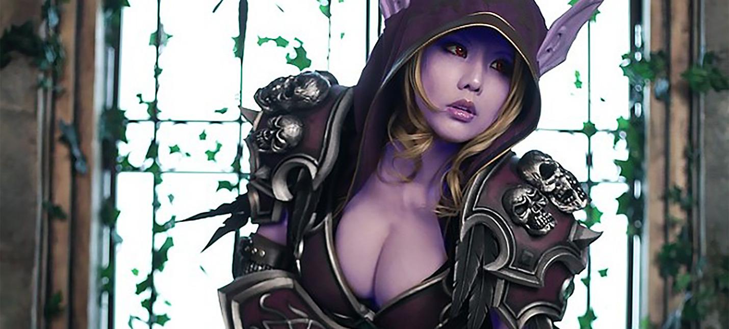 Самый точный и сексуальный косплей Сильваны Ветрокрылой к релизу Battle for Azeroth