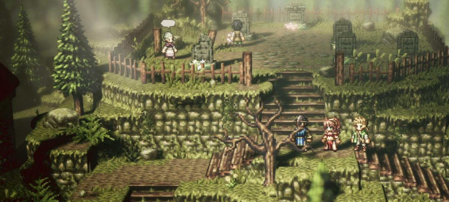Square Enix продолжит разработку под Switch после успеха Octopath Traveler