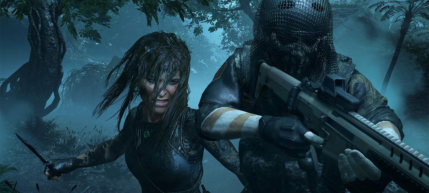 Новый трейлер Shadow of the Tomb Raider посвящен тактике боя