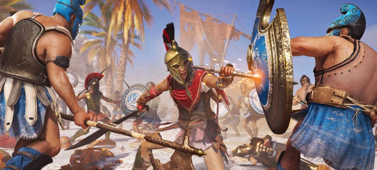 Новые скриншоты и арты Assassin's Creed Odyssey