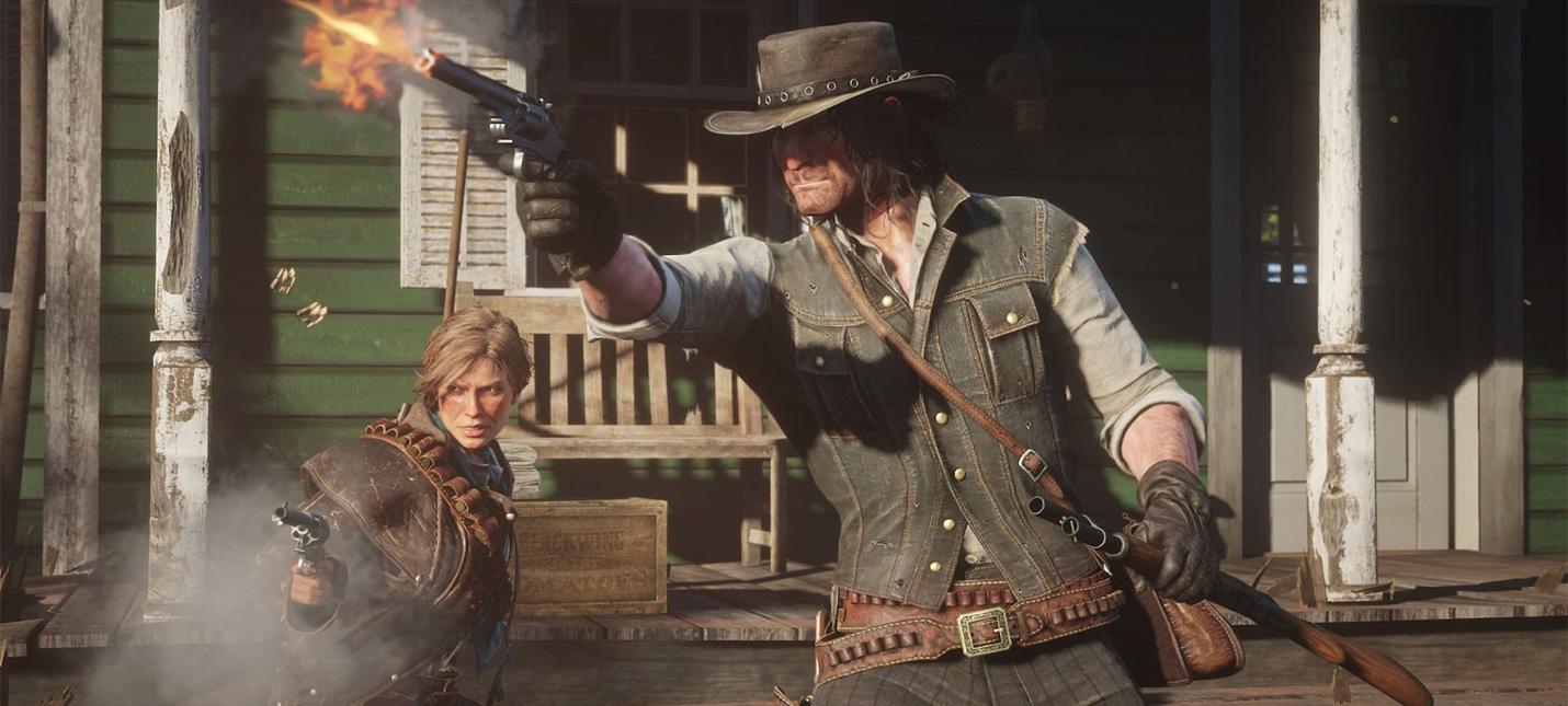 Первое геймплейное видео Red Dead Redemption 2