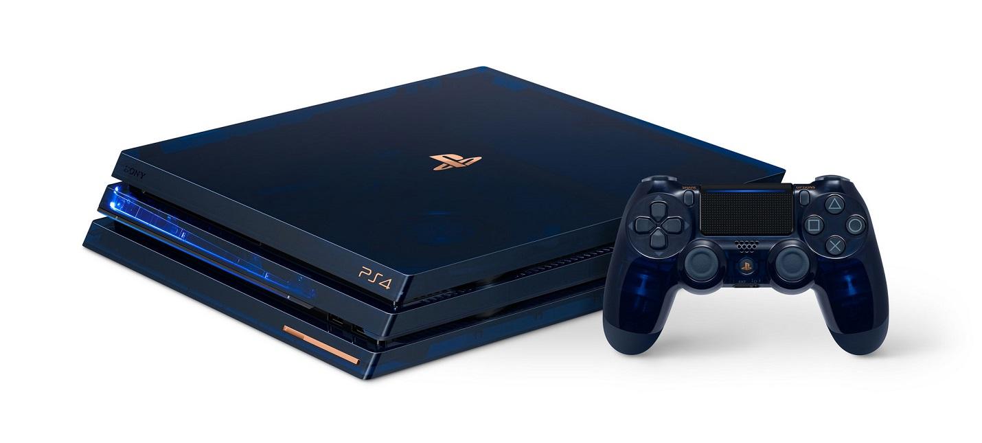 Sony выпустит ограниченным тиражом полупрозрачные PS4 Pro