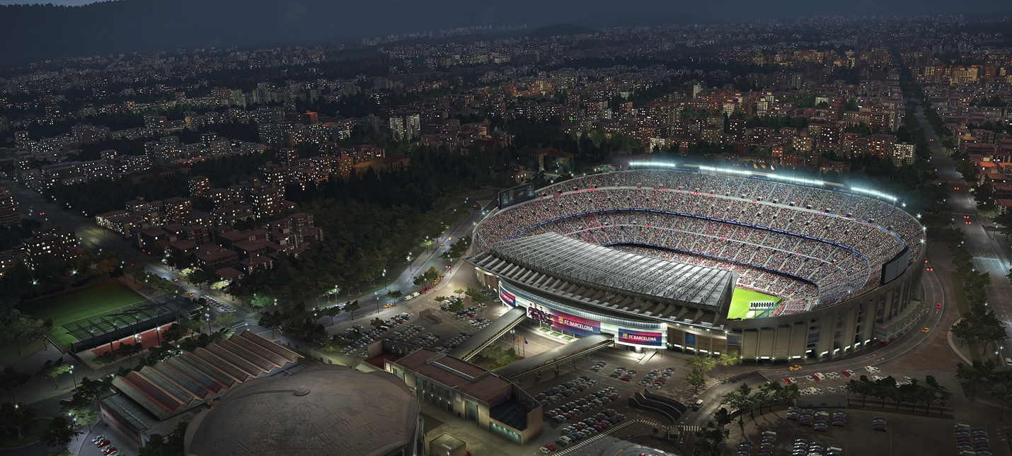 Футбольный праздник на скриншотах PES 2019
