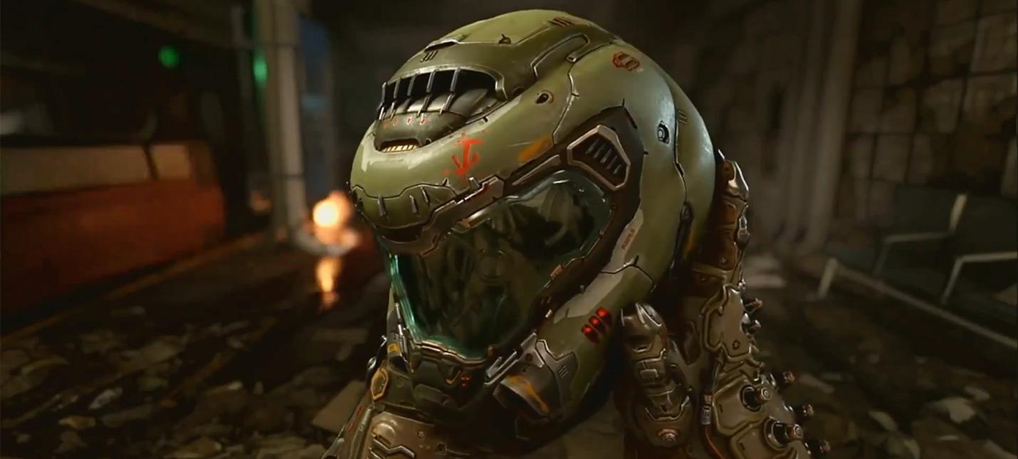 Первый геймплейный трейлер Doom Eternal