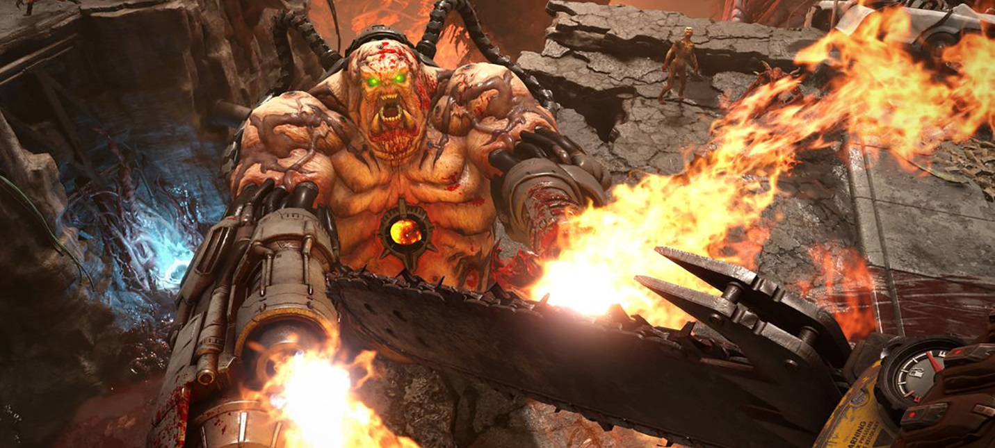 Doom Eternal получит DLC для одиночного прохождения