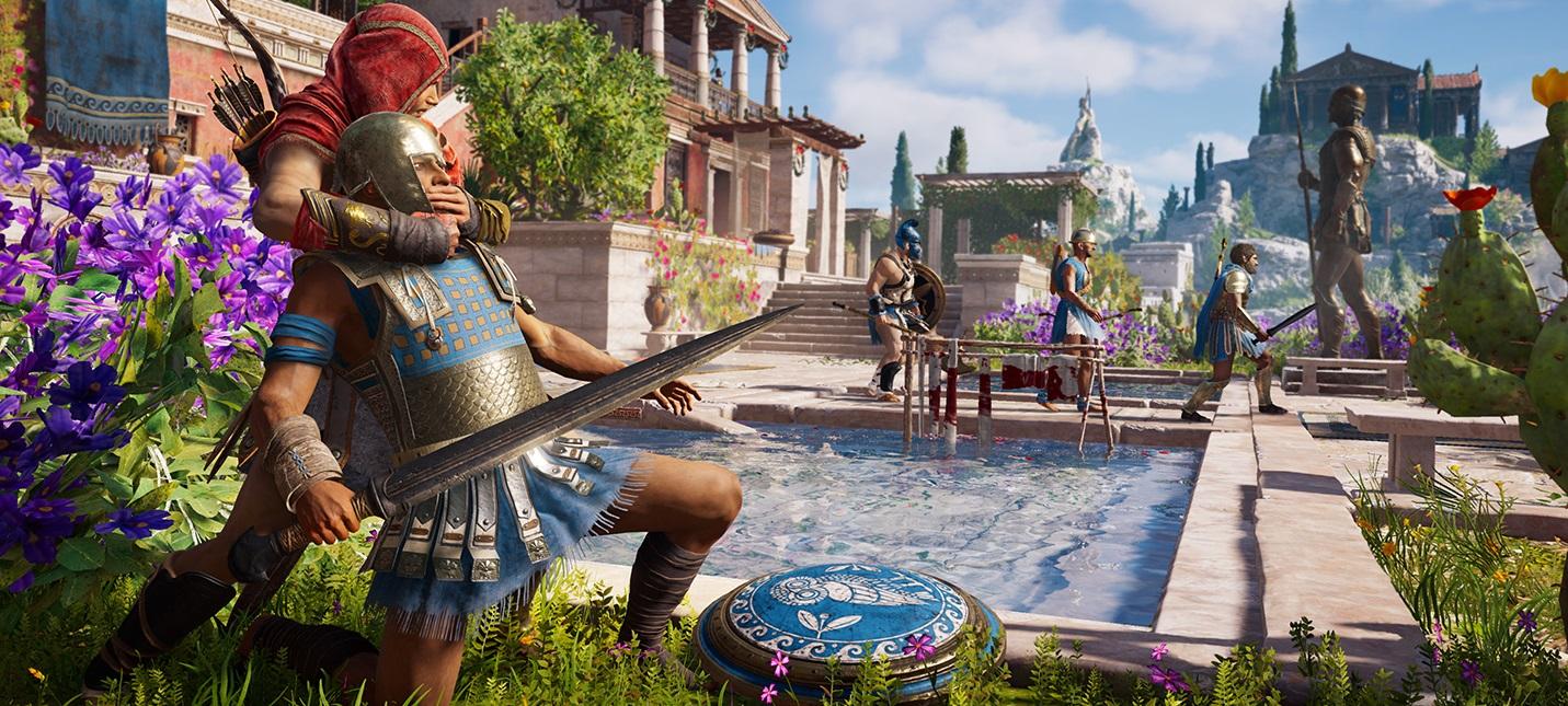 Разработчики рассказали о боевой системе в Assassin's Creed: Odyssey