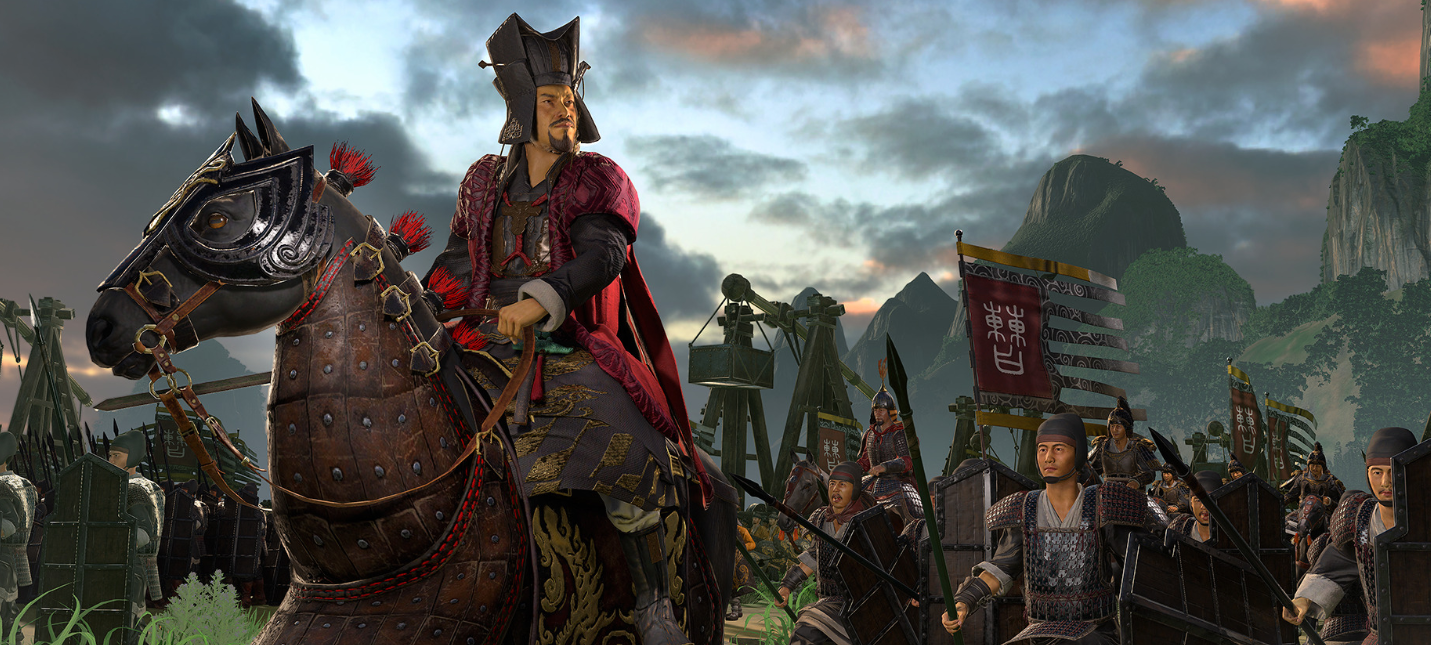 Вышел новый трейлер Total War: Three Kingdoms