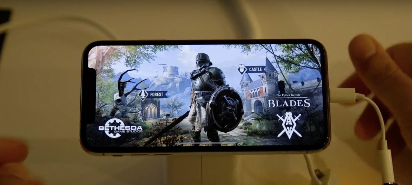 11 минут геймплея The Elder Scrolls Blades