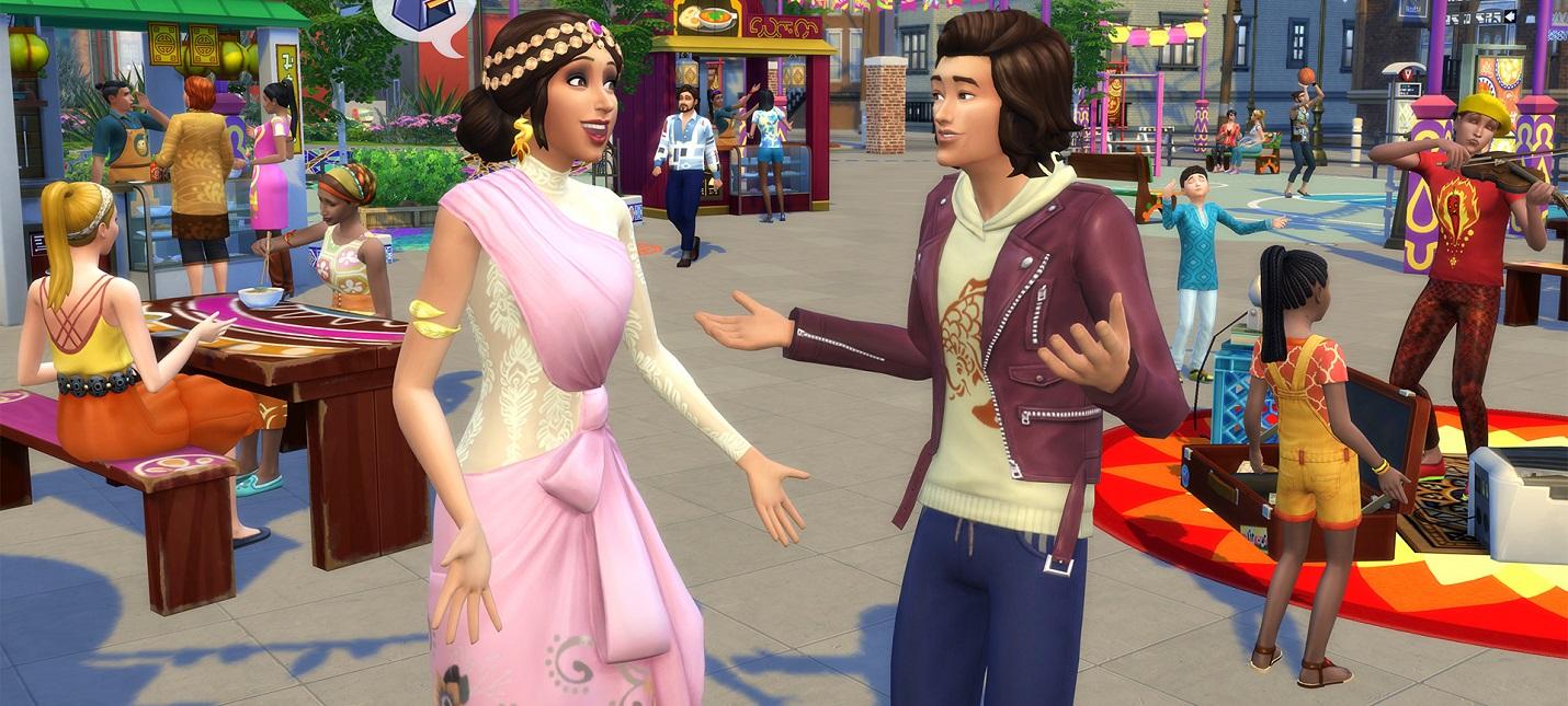 Геймер сломал The Sims 4 и заставил симов бежать десятки километров