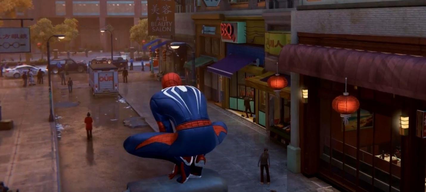 Живой Нью-Йорк в новом трейлере Marvel's Spider-Man