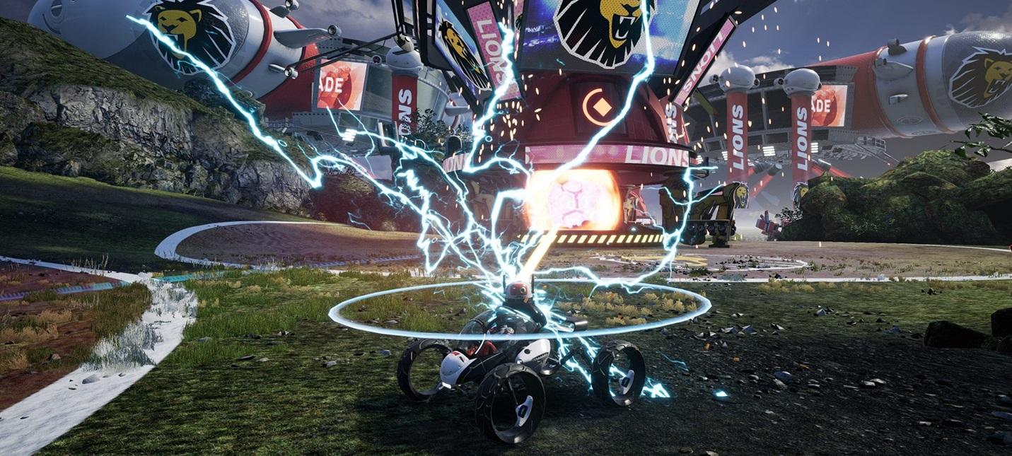 Релизный трейлер экшен-рейсинга Switchblade