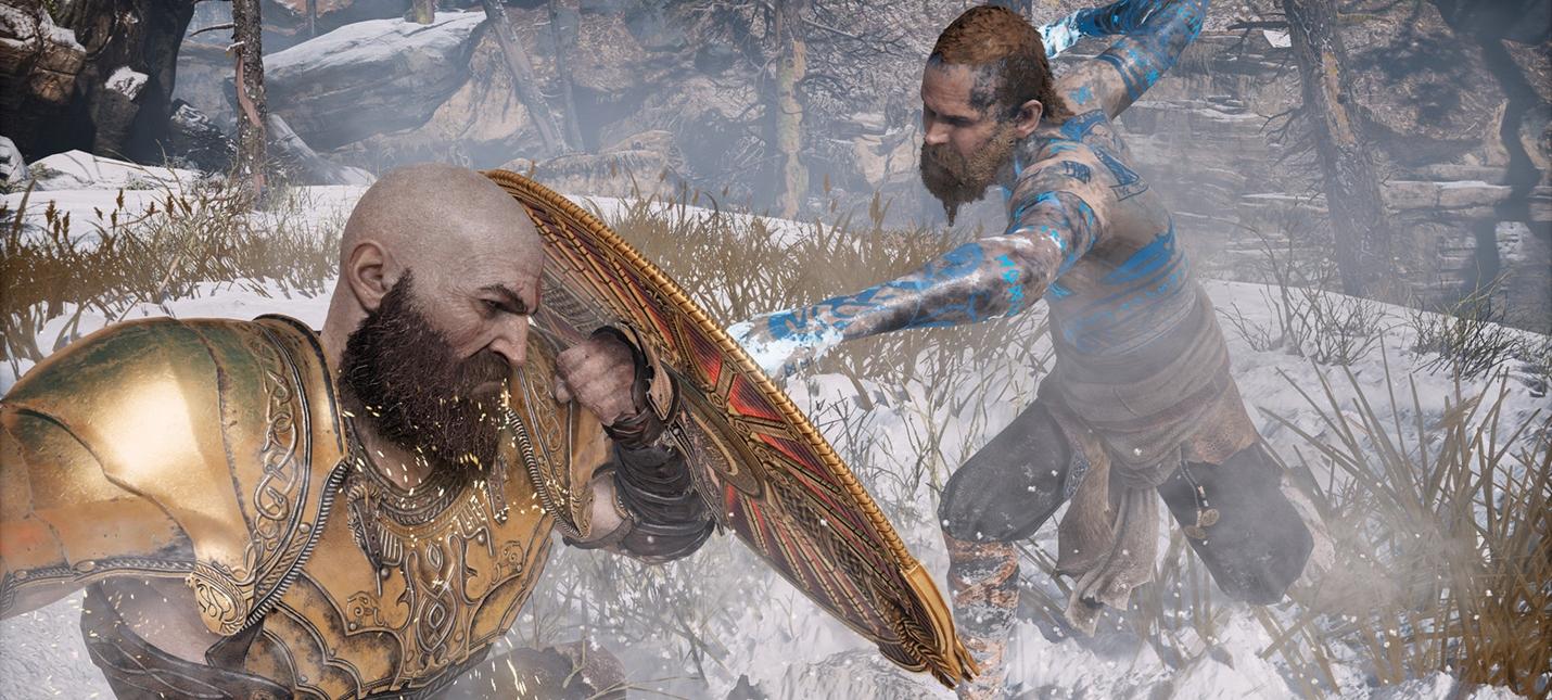 Геймдизайнер God of War показал прототип боя Бальдра и Кратоса